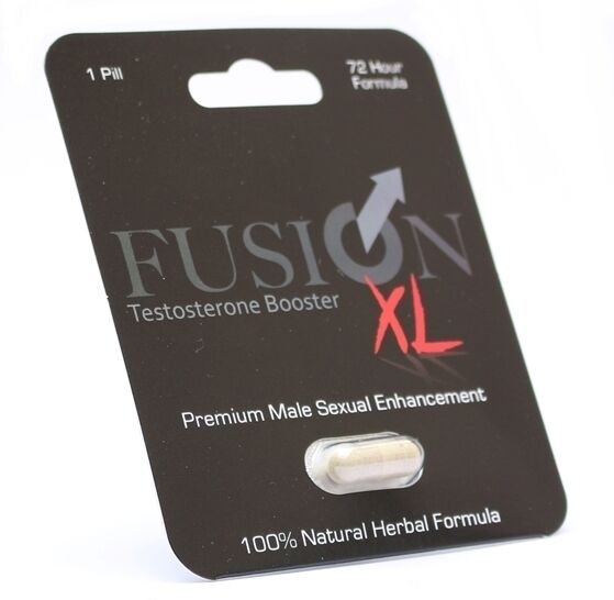 Fusion XL Male Enhancement 8 Pills and Testosterone Booster Penis Enhancer 868641000038 - CertNutri