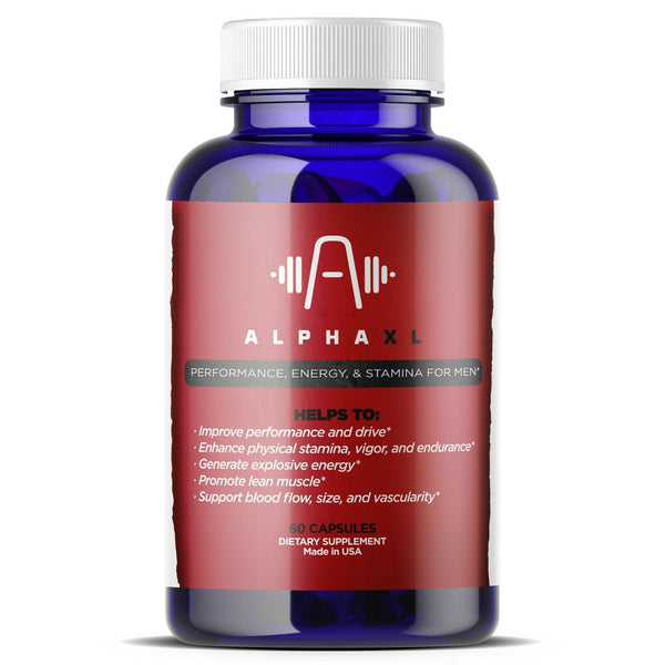 Alpha XL Enhancement Energy Pills - Men Testosterone Supplement
