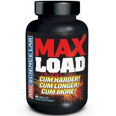 Max Load Pills for Male Ejaculation Intensify Orgasm Enhancement 699439006624 - CertNutri