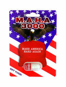 MAHA 3000 All Natural Herbs for Male Power Performance Enhancers - CertNutri