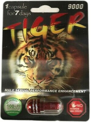 Tiger 12000 Male Sexual Enhancement pills 1 pill 100% Genuine 40232041167
