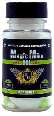 Magic Mike XXL Male Performance Enhancement Supplement 10-Count Bottle 748252539151