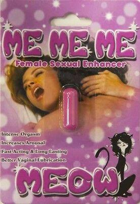 Me Me Me Meow Female Sexual Enhancement Supplement Pill - 5 pills 91037869647 - CertNutri