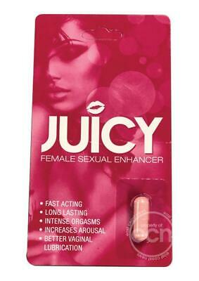 JUICY FEMALE SEXUAL ENHANCEMENT VAGINAL LUBRICATION INCREASED AROUSAL FAST ACT