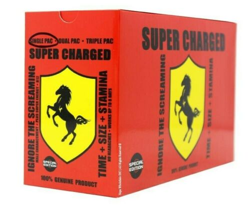 Super Charged V8 (V6) - Male Sexual Enhancement supplements Pills - 100% Authentic - CertNutri