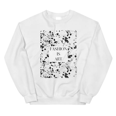 Fashion is Art Sweatshirt