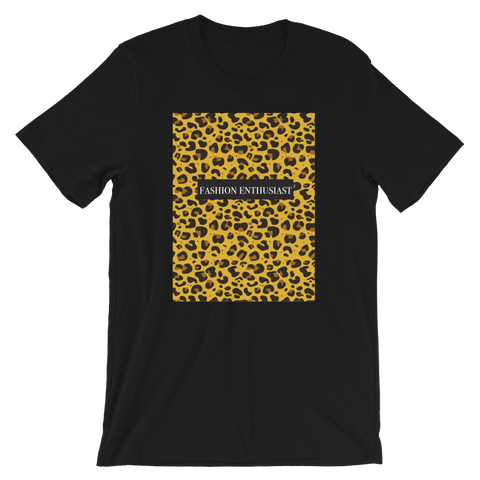 Fashion Enthusiast Tee (Cheetah)