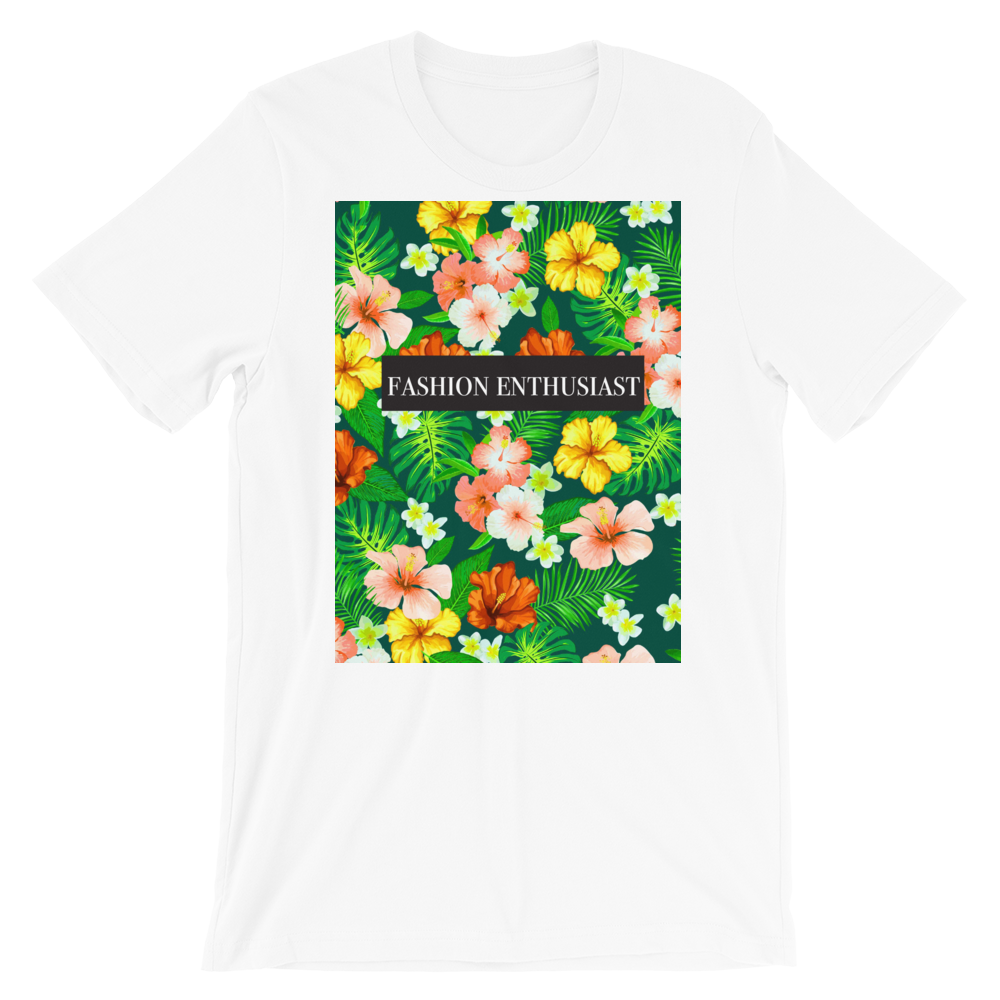 Fashion Enthusiast Tee (Floral)