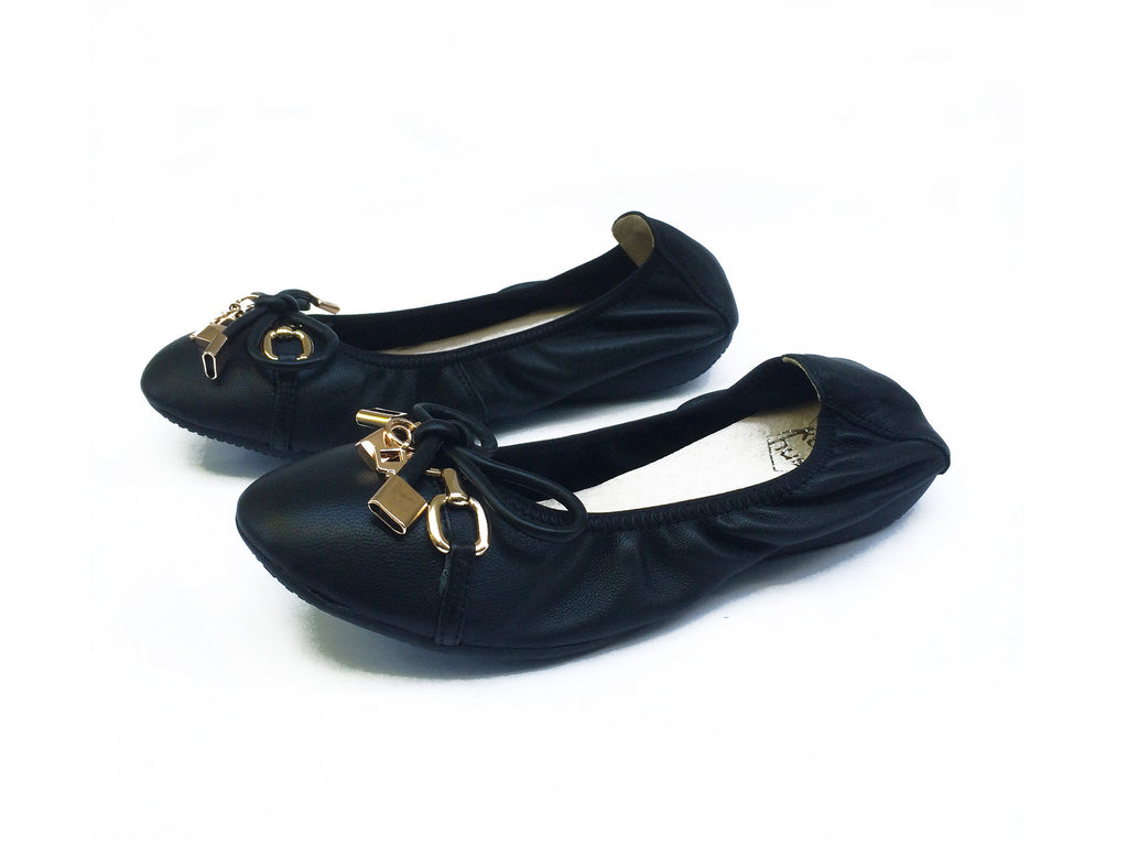 BUTTERSOFT BALLET FLATS [BLACK]