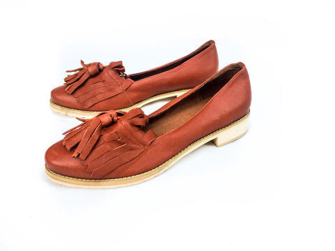 LORDE LOAFERS [CLAY]