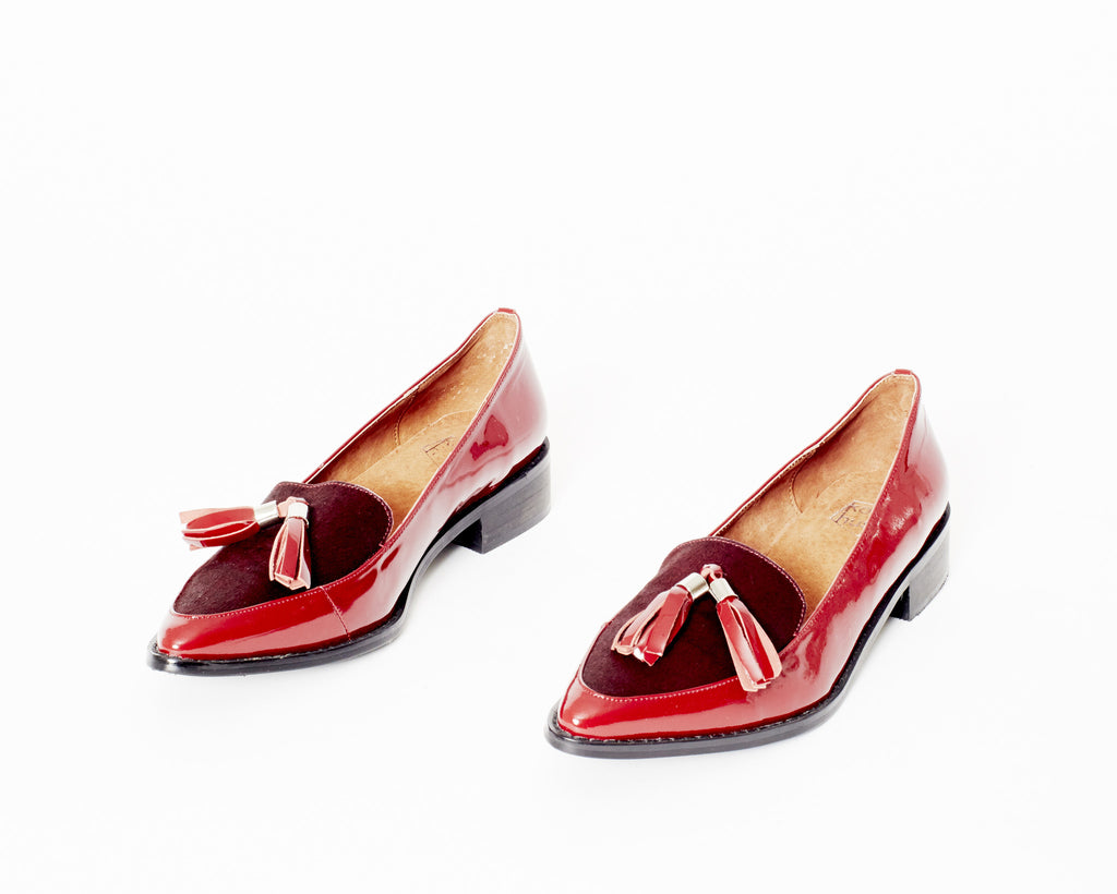 CHEVAL LOAFERS [DEEP RED]