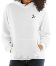 Load image into Gallery viewer, Embroidered Hooded Sweatshirt - Bitcoin