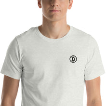 Load image into Gallery viewer, Embroidered T-Shirt - Bitcoin