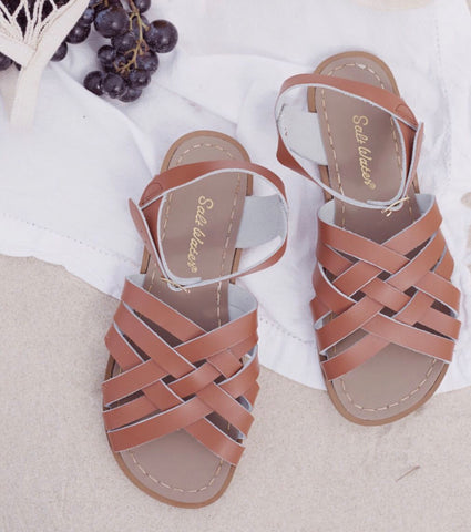 281732b0d819 Saltwater Sandals got their start in the 1940s in America