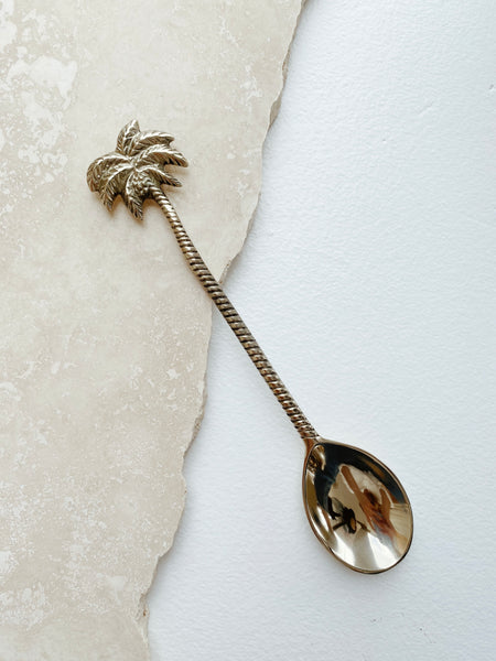 Golden Palm Spoon