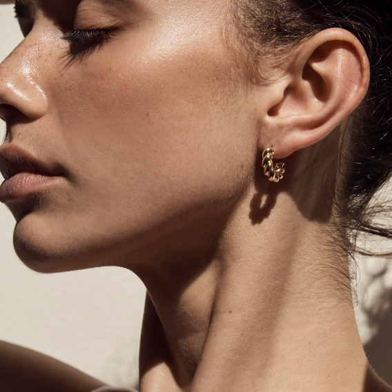 Sonia Hoops - Gold