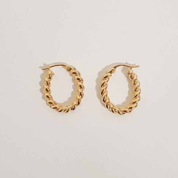 Sofia Earrings - Gold