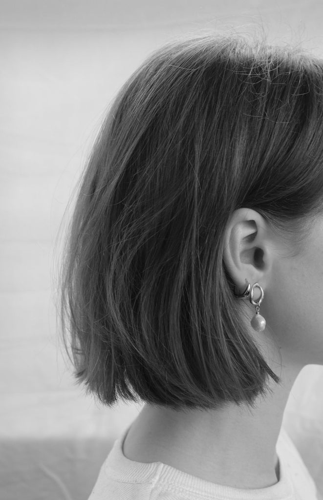 Mini Fresh O Stud Earrings - Silver
