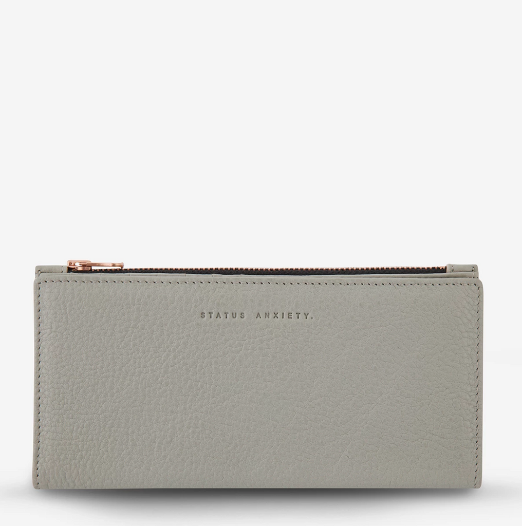 In The Beginning Wallet - Light Grey