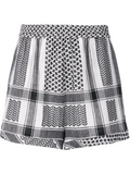 Cecilie Shorts - Black & White