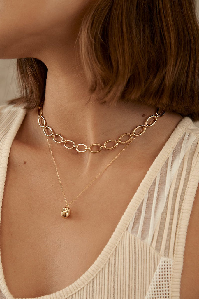 Link Chain Necklace - Gold