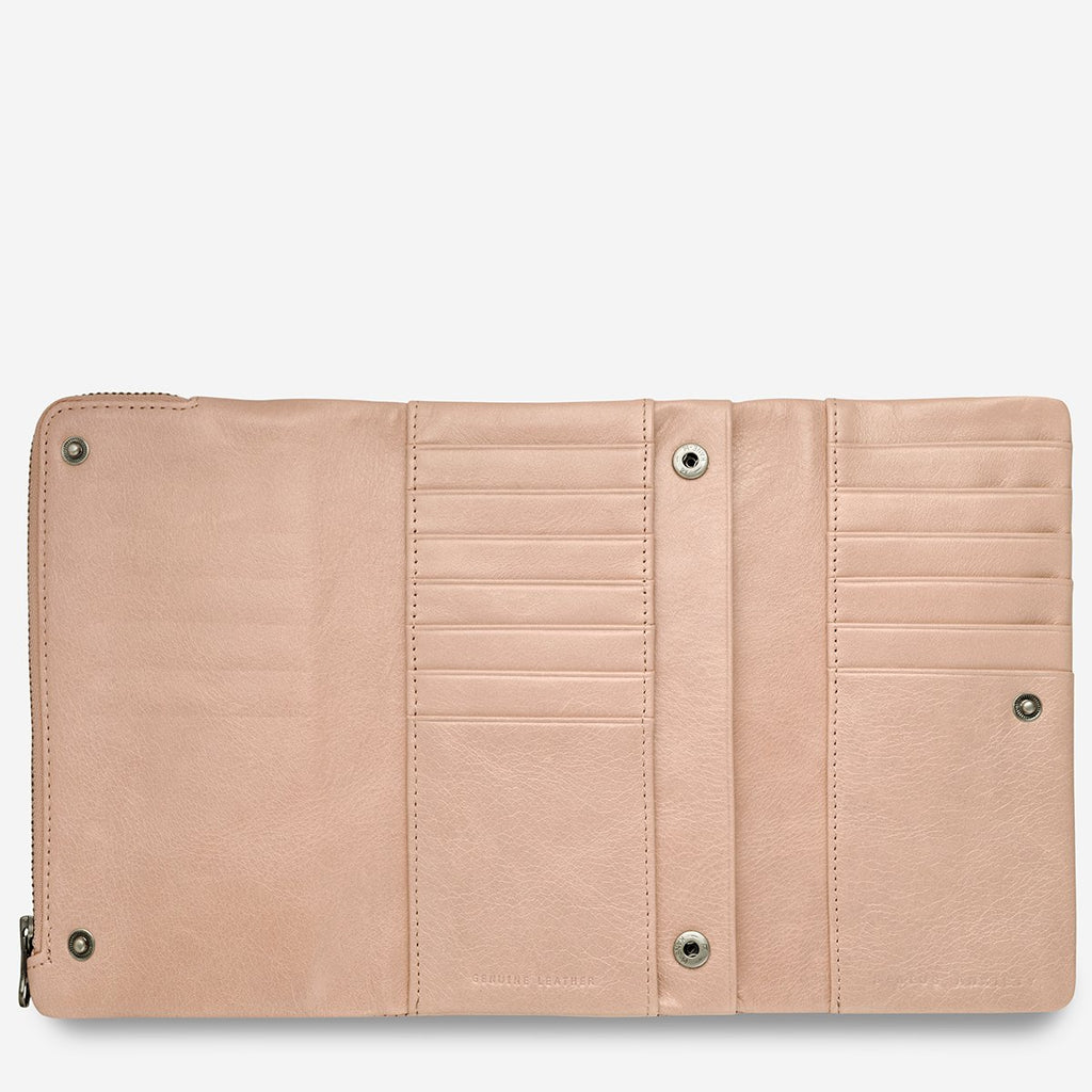 Audrey Wallet - Dusty Pink
