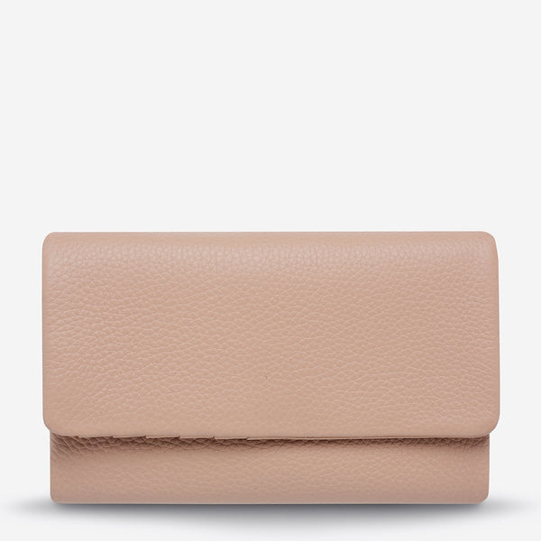Audrey Wallet - Pebble Dusty Pink