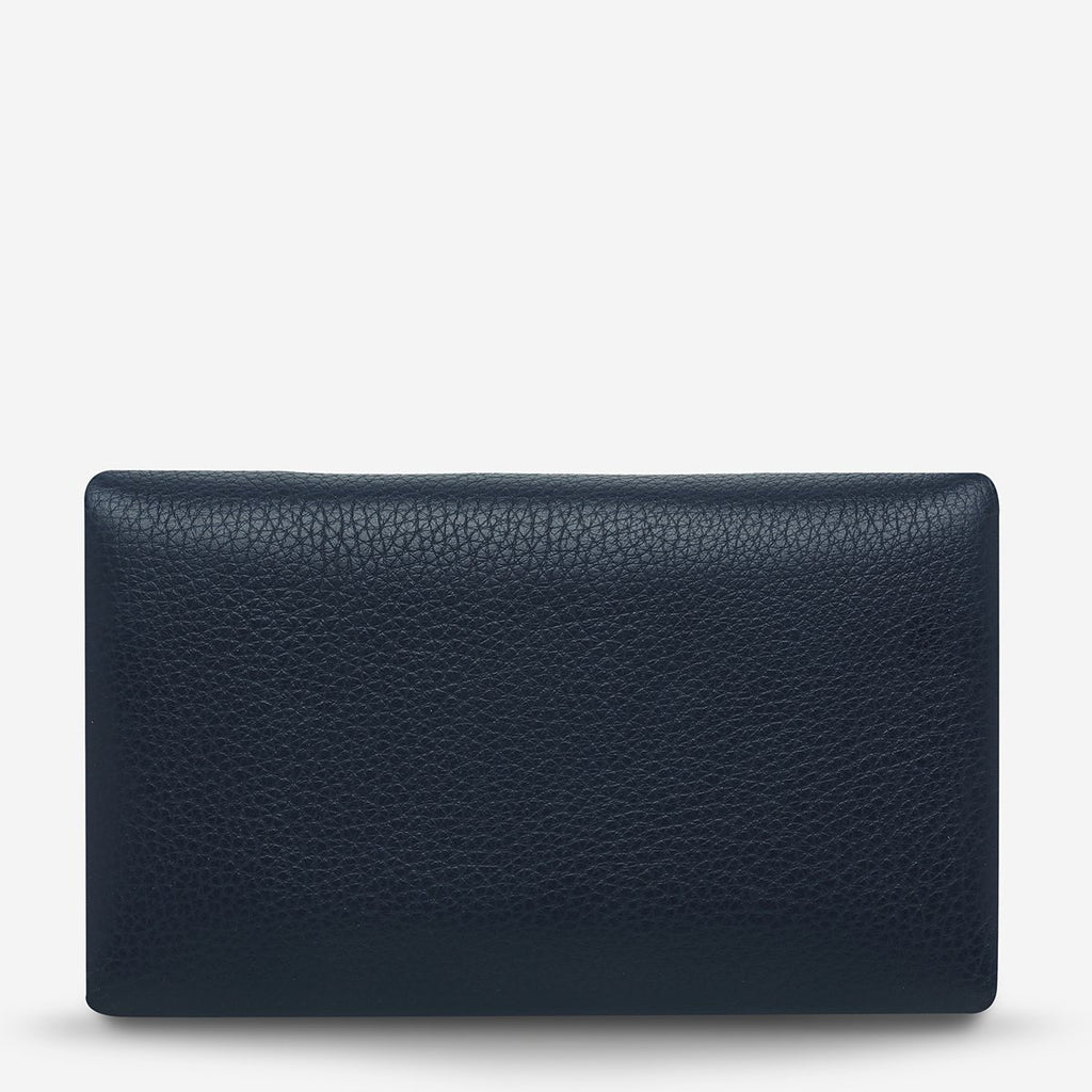 Audrey Wallet - Pebble Navy