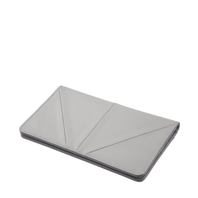 Triple Threat Wallet - Light Grey