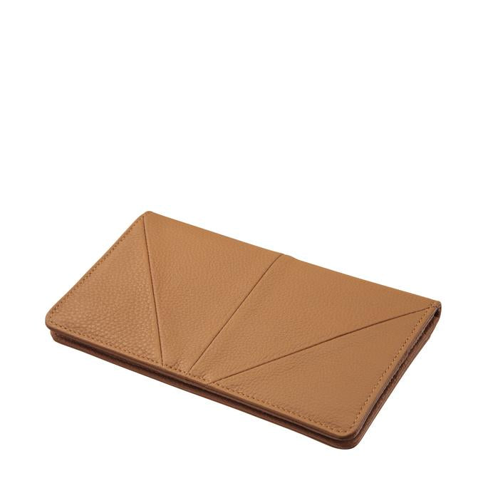 Triple Threat Wallet - Tan