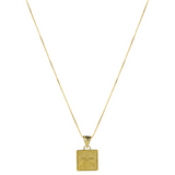 Valores Pendant Necklace - Gold Wisdom