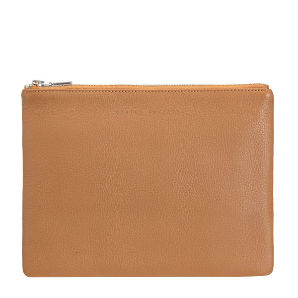 Antiheroine Clutch - Tan