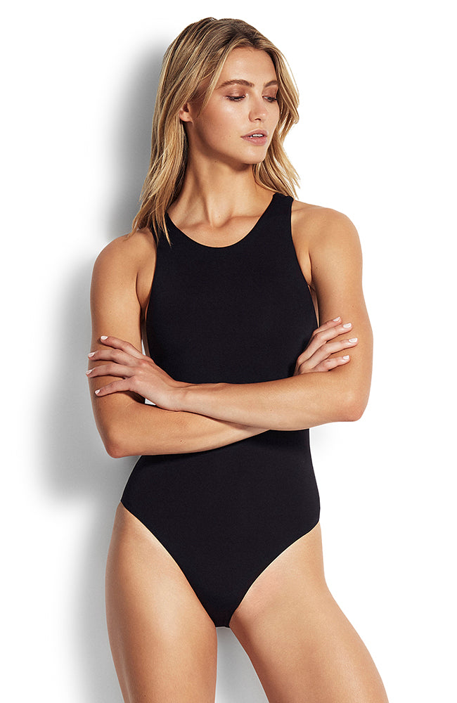 Seafolly Action Back Maillot