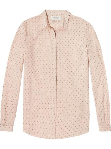 Scotch & Soda Printed Cotton Shirt