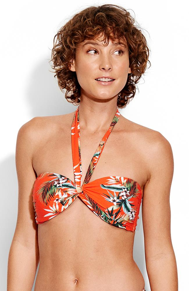 Seafolly Ocean Alley Twist Bandeau