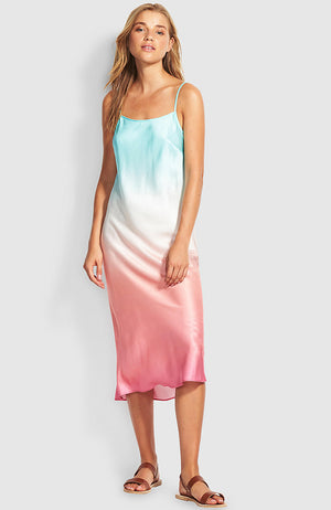 Seafolly Ombre Shore Slip Dress