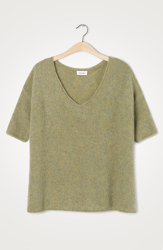 American Vintage Fogwood V-Neck Jumper
