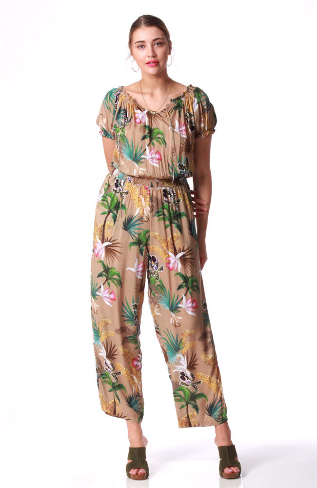 Honeysuckle Beach Escape Jumpsuit