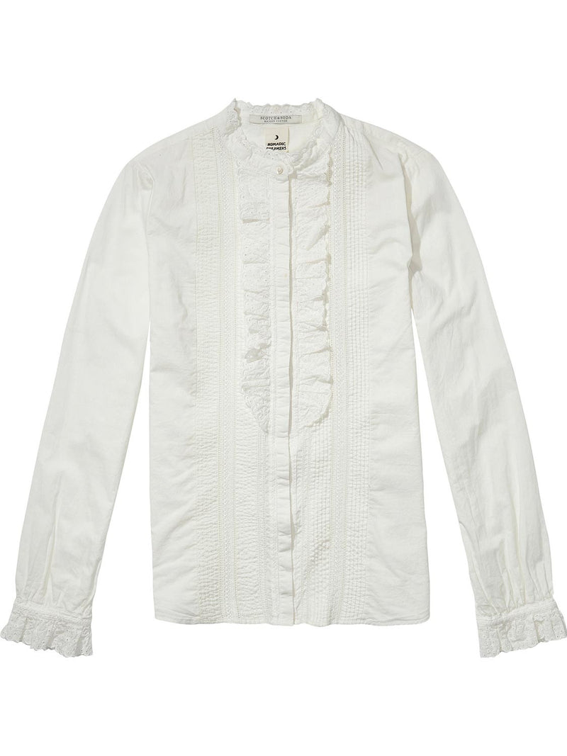Maison Scotch Pirate Inspired Shirt