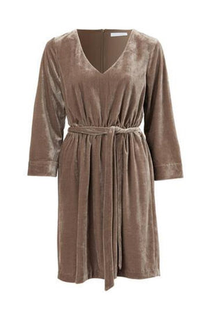 Mesop Davis Velvet Dress
