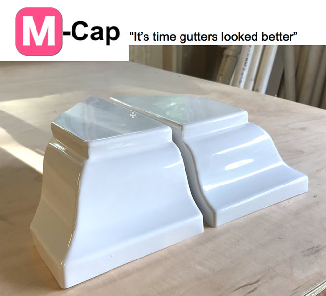 On Pinterest! New Gutter End Caps are here M-Cap