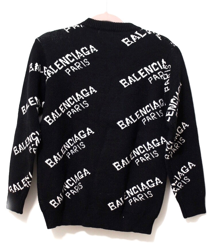 Balenciaga All over Jumper
