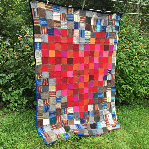 "Pixelated Heart Throw Blanket - 46"" X 58"""