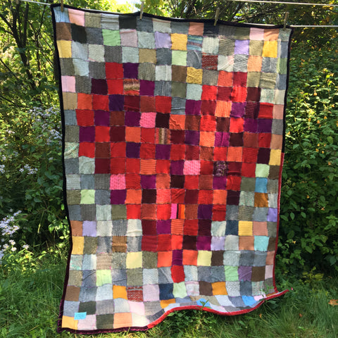 "Pixelated Heart Throw Blanket - 46"" X 58"" - Lite"