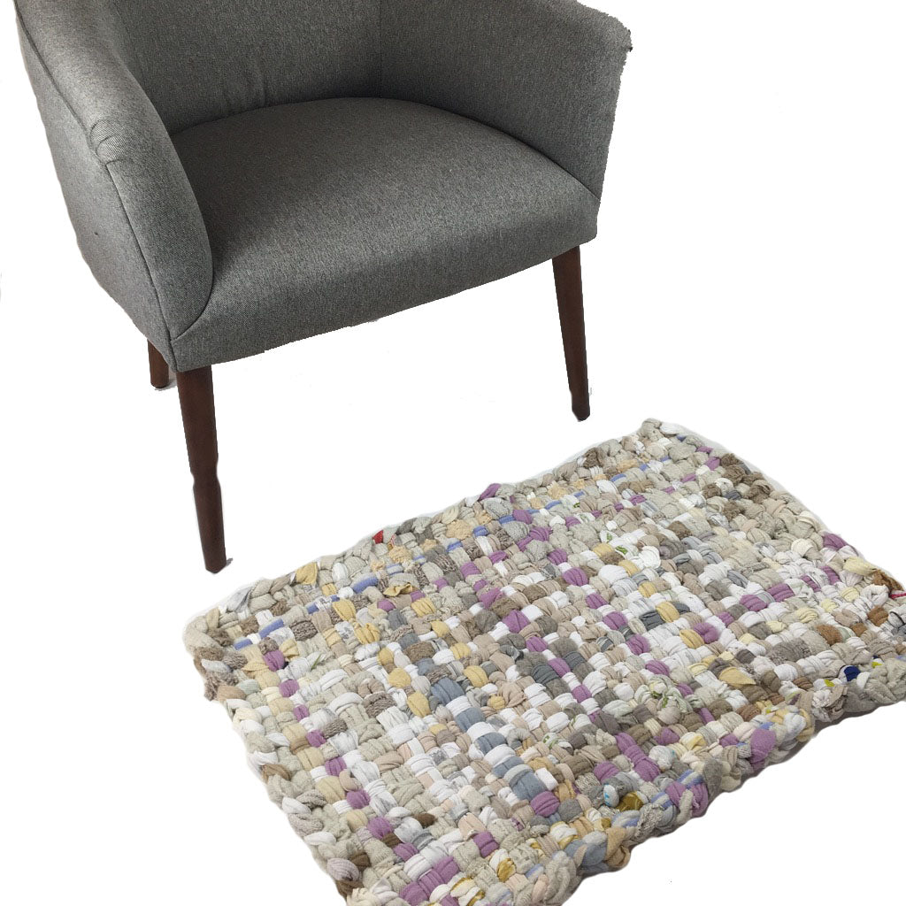 Potholder Rug - Touch of Lavender - 20x30 in.