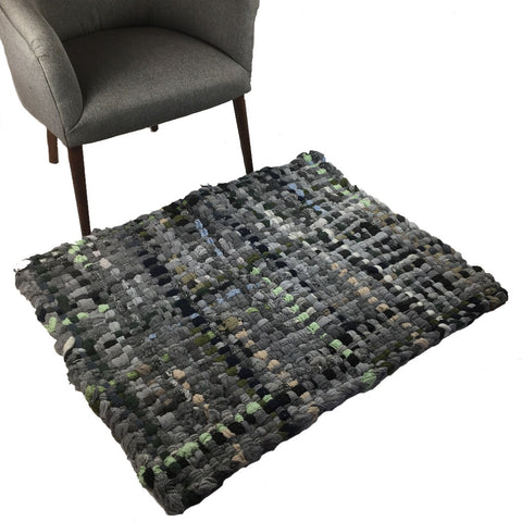 Potholder Rug - Grey Days- 2.5x3.5ft