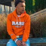 """Tiger Orange"" Life is Rare Worldwide Hoodie"
