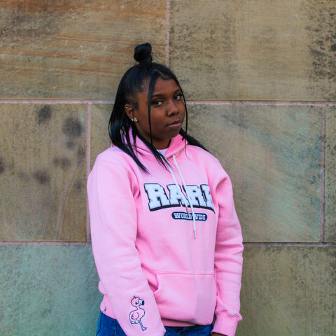 """Flamingo"" Life is Rare Worldwide Hoodie"