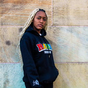 """Black Panther"" Life is Rare Worldwide Hoodie"