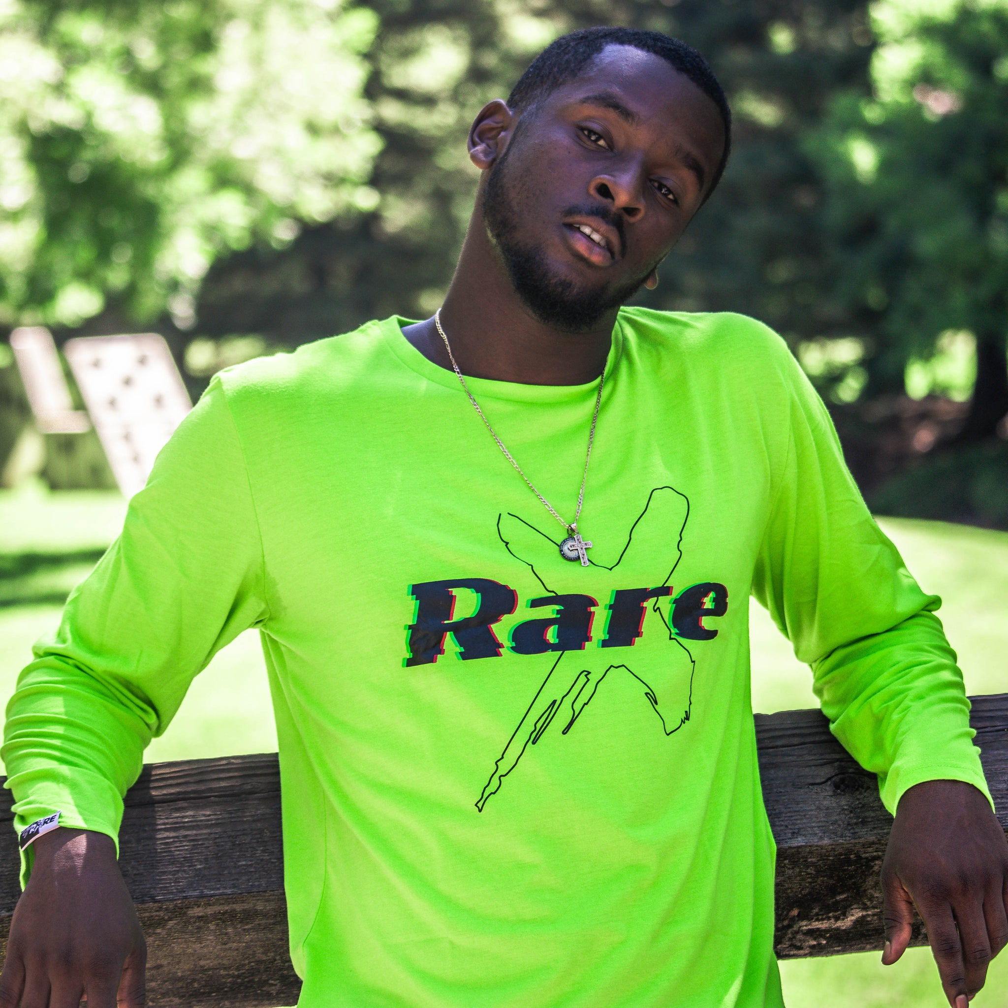 """Lime"" Rare X SCETS Long Sleeve"